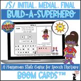 Articulation BOOM Cards™ - S - Build A Superhero Game