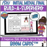 Articulation BOOM Cards™ - SH - Build A Superhero Game