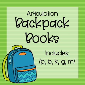 Articulation Backpack Books