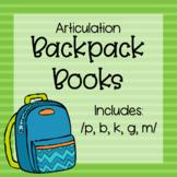 Articulation Backpack Books
