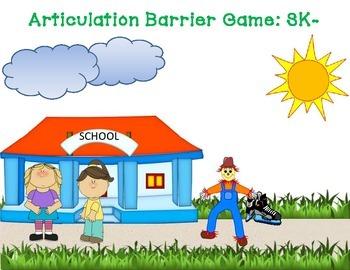 Articulation Barrier Game: Sk-