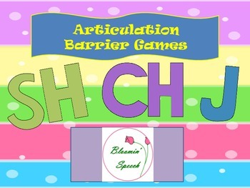 Articulation Barrier Games 2 (SH, CH, J)