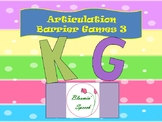 Articulation Barrier Games 3 (K, G)