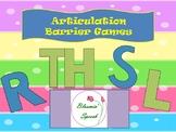 Articulation Barrier Games (R, S, L, TH)
