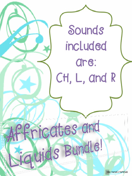 Articulation Baseline/Probes (Affricates and Liquids Bundle)