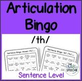 Articulation Bingo: A No-Prep, Sentence-Level Activity for /th/