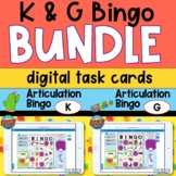 Articulation Bingo Boom Cards for K and G Bundle
