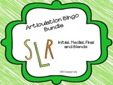 Articulation Bingo Bundle for /R/, /S/, and /L/