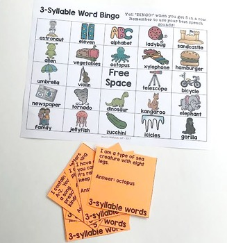 Articulation Bingo Bundle