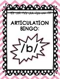Articulation Bingo: /b/ (ALL POSITIONS)