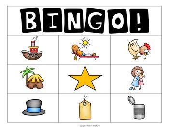 Articulation Bingo /h/ and /t/