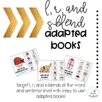 Articulation Blends Adapted Books Bundle