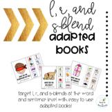 Articulation Blends Adapted Books Bundle #jun208slpmusthave