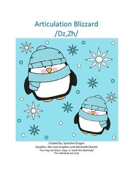 Articulation Blizzard /Dz,Zh/