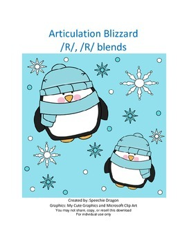 Articulation Blizzard R and R blends