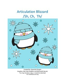Articulation Blizzard /Sh, Ch, Th/