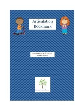 Articulation Bookmark