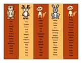 Articulation Bookmark Assortment
