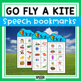 Kite Themed Articulation Bookmarks