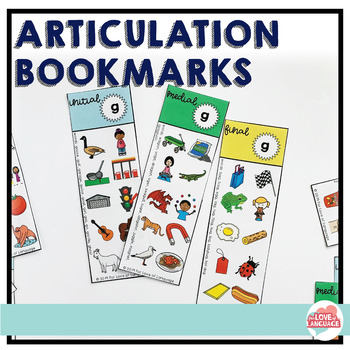 Articulation Bookmarks