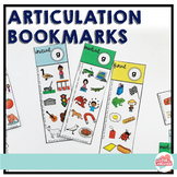 Articulation Bookmarks--Distance Learning