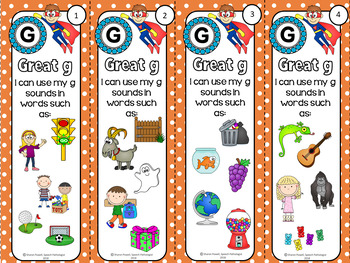 Articulation  Bookmarks for initial k, g, f, l, s, sh and ch sounds