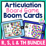 Articulation Boom Card Board Game BUNDLE No Print Speech Therapy
