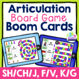 Articulation Boom Card Games for Speech Therapy BUNDLE