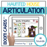 Halloween Articulation Boom Cards™️ | Speech Therapy | Teletherapy