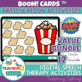 Articulation Boom Cards Value Bundle - Speech Therapy