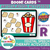 Articulation Boom Cards for Pre Vocalic /R/ - Speech Therapy
