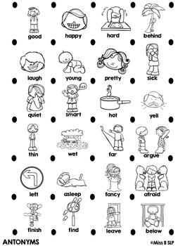 Vocabulary Boxes **NO PREP**