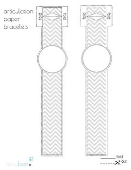 Articulation Bracelets Chevron Design