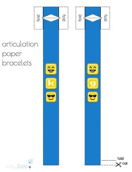 Articulation Bracelets - Pixelated