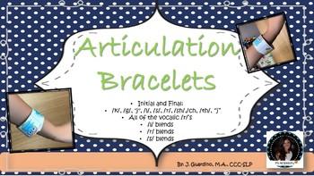 Articulation Bracelets: all sounds!