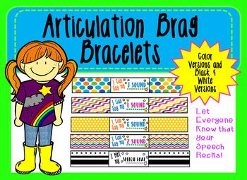 Articulation Brag Bracelets