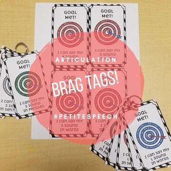 Articulation Brag Tags
