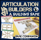 Articulation Builders! A speech therapy game companion!