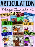 Articulation Bundle #2 for Speech Therapy