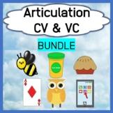 Articulation Bundle - Consonant-Vowel & Vowel-Consonant Ta