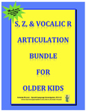 Articulation Bundle for Older Kids