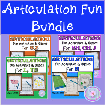 Articulation Fun Bundle: Tongue Twisters and other Fun Activities