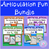 Distance Learning Articulation Fun Bundle