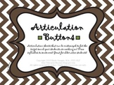 Articulation Buttons (Articulation Worksheets for Older Students)