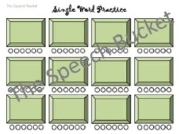 Articulation Buttons (Articulation Worksheets for Older Students)