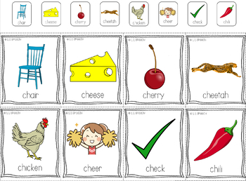 Articulation CH - Back to School Theme