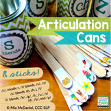 Articulation Cans | a speech therapy DIY you'll use forever