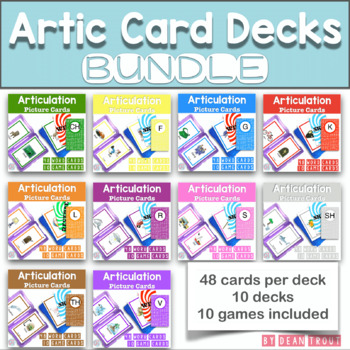 Articulation Picture Cards BUNDLE