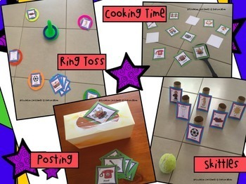 Articulation Card Games Set 3 for speech and language therapy