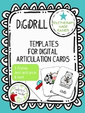 DiGiDRiLL Articulation Card/Flash Card Templates